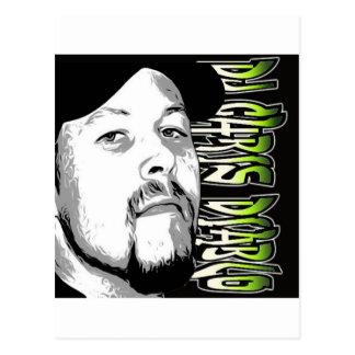 DJ CHRIS DIABLO - DJ-LOGO 5 POSTKARTE