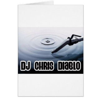 DJ CHRIS DIABLO - KRÄUSELUNG KARTE