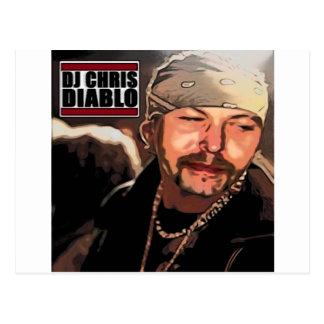 DJ CHRIS DIABLO - RASTA POSTKARTE