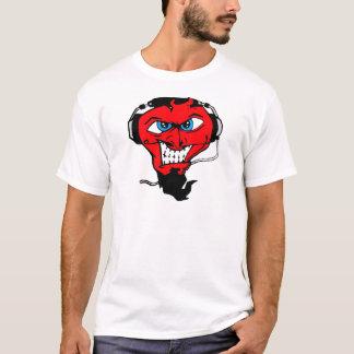 DJ CHRIS DIABLO - TEUFEL-LOGO 1 T-Shirt