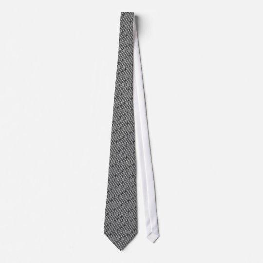 DNA Helix horiz LightOnGray Individuelle Krawatte