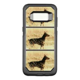Dobermann in den trockenen Schilfen, die Bild OtterBox Commuter Samsung Galaxy S8 Hülle
