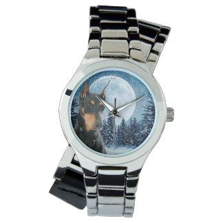 Dobermann-Uhr Armbanduhr