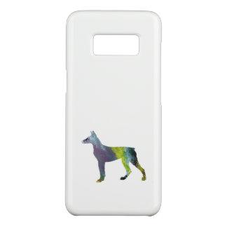 Dobermannpinscher-Kunst Case-Mate Samsung Galaxy S8 Hülle