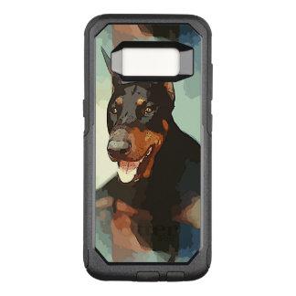 Dobermannpinscher-Porträt OtterBox Commuter Samsung Galaxy S8 Hülle