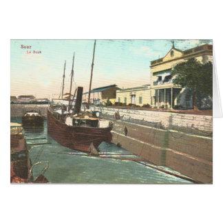Dock Suez Ägypten, Vierzigerjahre Karte