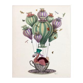 Dodo-Ballon mit Libellen Acryl Wandkunst
