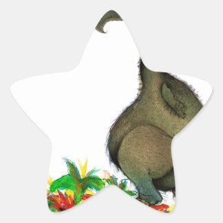 Dodo die Liebe der tony fernandess Stern-Aufkleber