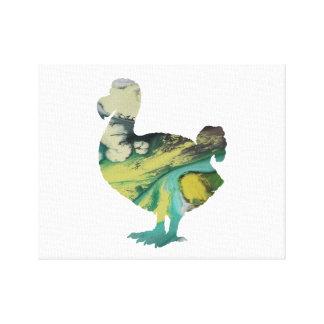 Dodo-Kunst Leinwanddruck