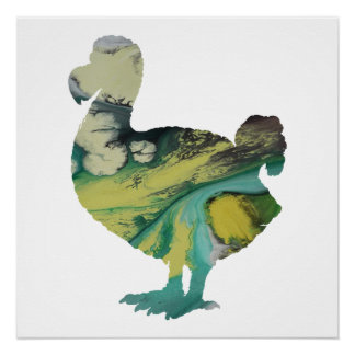Dodo-Kunst Poster