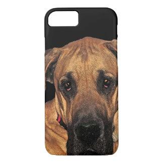 Dogge-leichter riesiger HundiPhone 7 Fall iPhone 8/7 Hülle