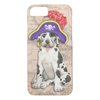 Dogge-Pirat iPhone 8/7 Hülle
