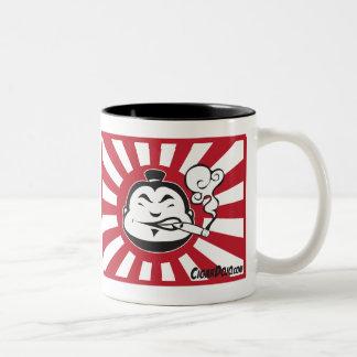 Dojoikonen-Tassen Zweifarbige Tasse