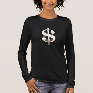 Dollar Langarm T-Shirt