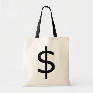 Dollar-Zeichen Budget Stoffbeutel