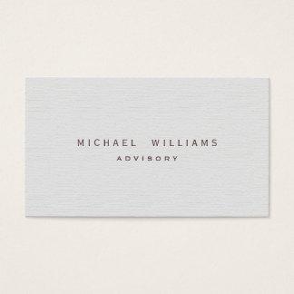 Dolmetscher Übersetzer - eleganter weißer Visitenkarten
