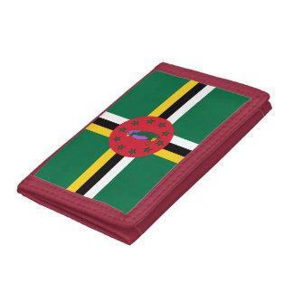 Dominikanische Flagge Geldbörse