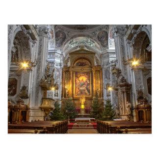 Dominikanische Kirche Wien Österreich Postkarte