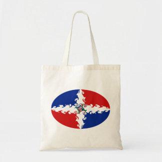 Dominikanische Republik-Gnarly Flaggen-Tasche