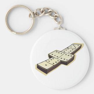 Domino Keychain Schlüsselanhänger