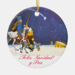 DON QUICHOTE - Adorno de Navidad Ornamente