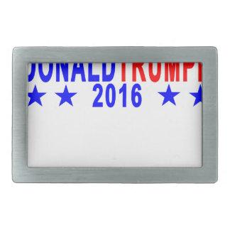 Donald Trump für Präsidenten T-Shirt; .png Rechteckige Gürtelschnallen