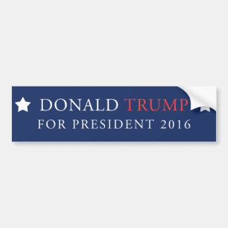 Donald Trump für Präsidenten Wahl 2016 Autoaufkleber