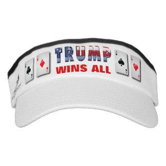 Donald Trump gewinnt alle Visor