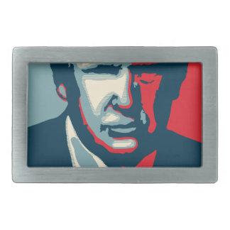 Donald Trump nope Rechteckige Gürtelschnallen