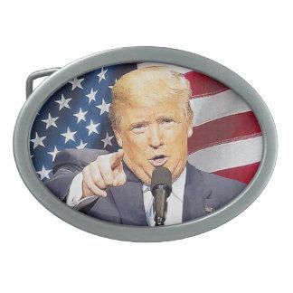 Donald Trump Ovale Gürtelschnallen