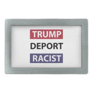 Donald- Trumpentwurf Rechteckige Gürtelschnalle