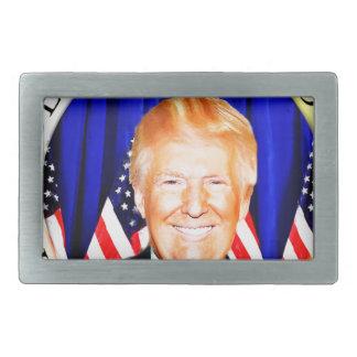 Donald Trumpf-für Präsidenten von USA _ Rechteckige Gürtelschnalle