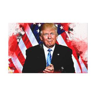 Donald- Trumpfeier-Malerei Leinwanddruck
