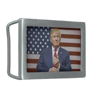 Donald- Trumpflagge Rechteckige Gürtelschnallen