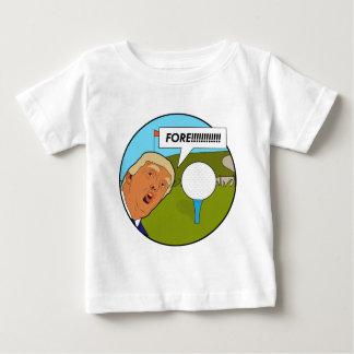 Donald- Trumpgolf Baby T-shirt