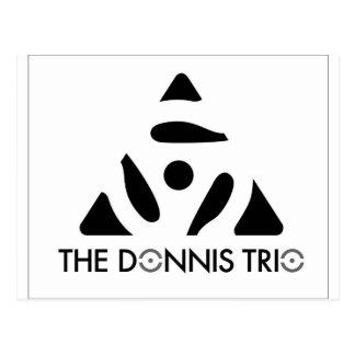 Donnis Trio Merch Postkarte