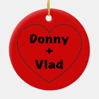 Donny + Vlad Keramik Ornament