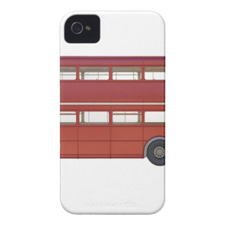 Doppeldecker-Rot-Bus iPhone 4 Case-Mate Hülle