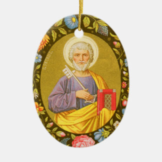 Doppelseitiger St Peter der Apostel (P.M. 07) Keramik Ornament