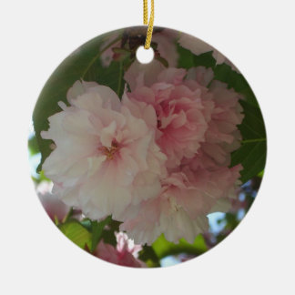 Doppelter blühender Frühling des Kirschbaum-I mit Keramik Ornament