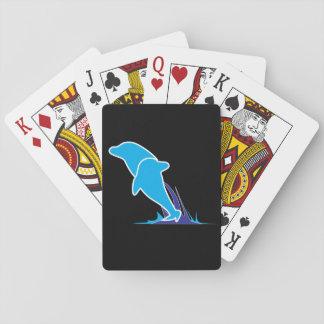 Doppelter Delphin-Spielkarten Spielkarten