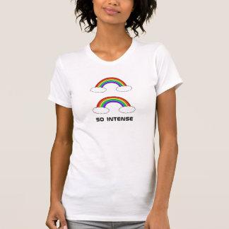doppelter Regenbogen, so intensiv T-Shirt