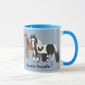 Doppeltes Problem! Tasse