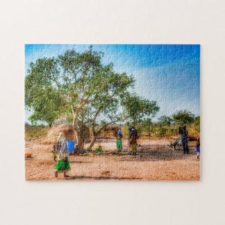 Dorf-Leben Puzzle