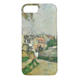 Dorf-Straße, 1879-82 (Öl auf Leinwand) iPhone 8/7 Hülle