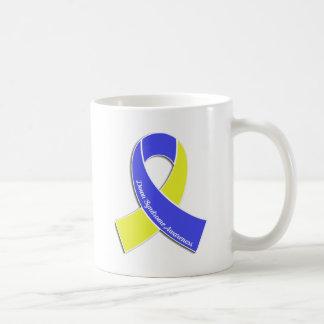 Down-Syndrom Bewusstseins-Band Kaffeetasse