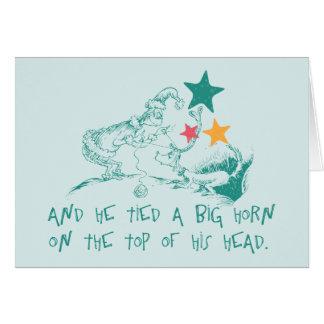 Dr. Seuss | das Grinch und das maximal Karte