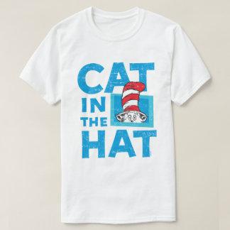 Dr. Seuss | die Katze im Hut-Logo - Vintag T-Shirt