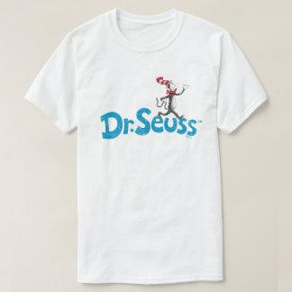 Dr. Seuss | die Katze im Hut-Vintagen Logo T-Shirt