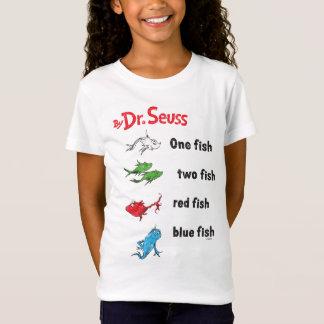 Dr. Seuss | ein Fisch zwei Fische - Vintag T-Shirt